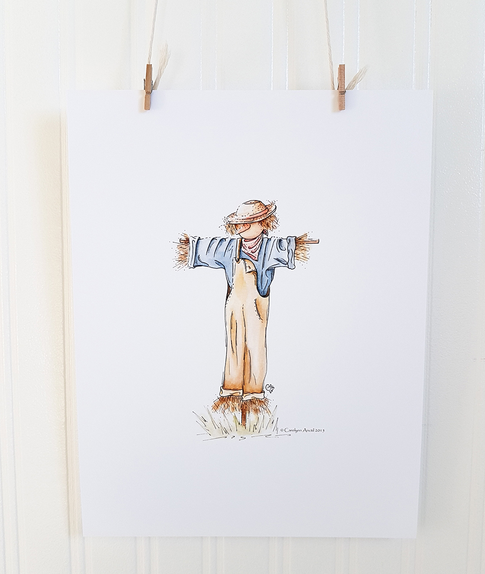 Farmers Friend Country Inspired Watercolour Illustration Product