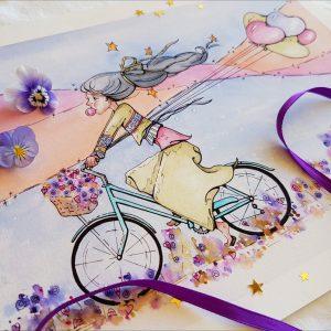 Joy Ride Print Detail