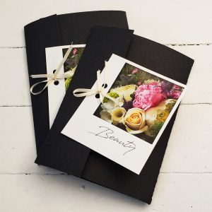 Beauty themed Pocket envelopes.
