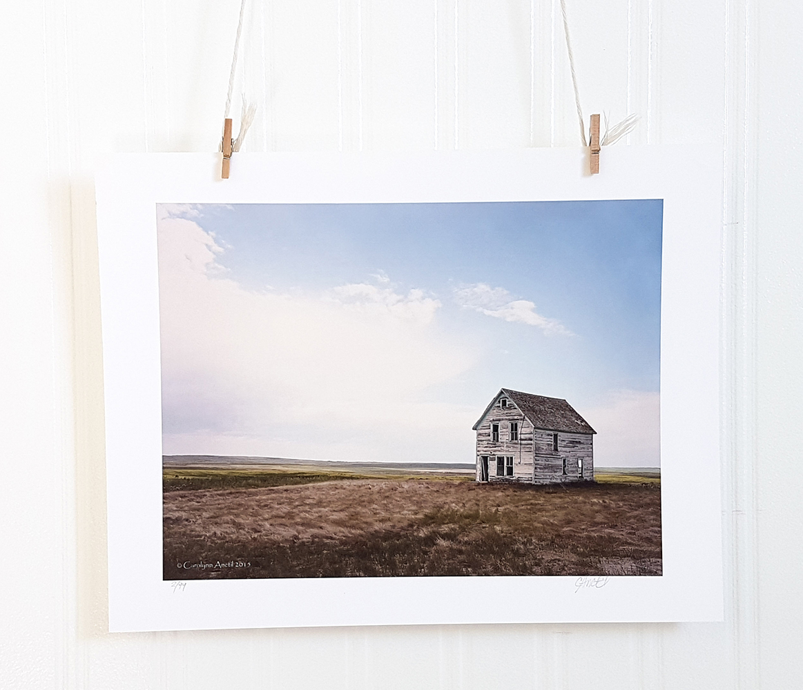 Country Photograph Art Print Prairie Farmhouse Product