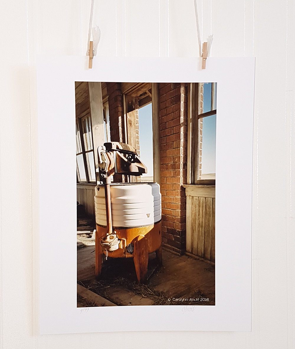 Wash Day Vintage Inspired Photograph Product